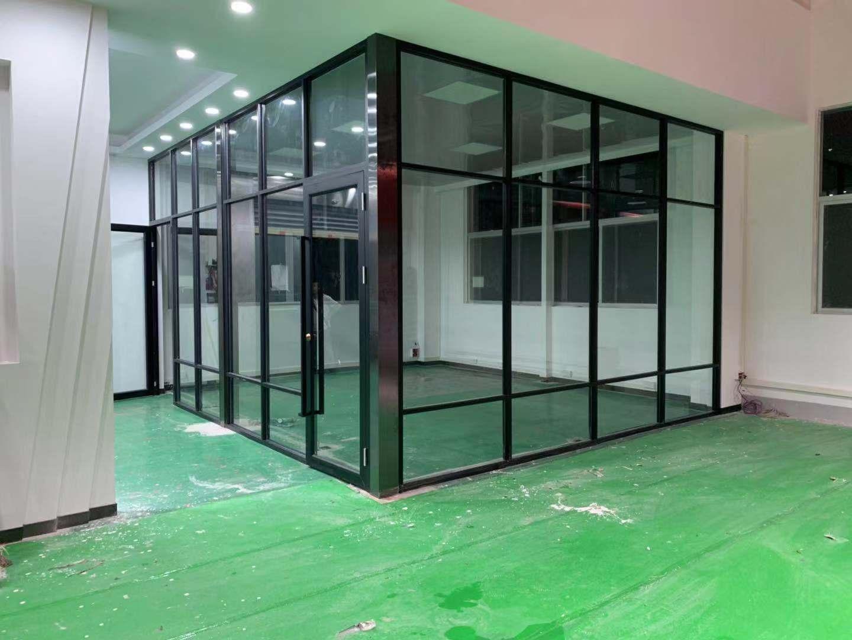 暨南大学番禺校区玻璃隔断项目案例