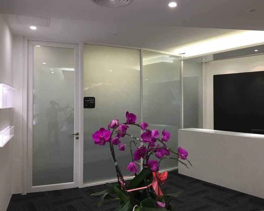 YGS-Wall-调光膜玻璃隔断