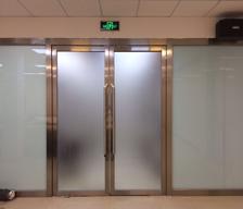 不锈钢玻璃隔断门