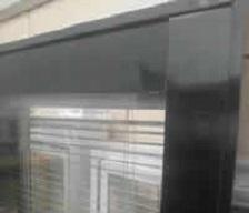 不锈钢隔断系列:6CM双玻百叶隔断